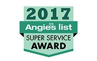 Angie's List 2017 - Super Service Awards